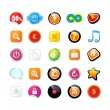 Web icons — Stock Vector #3950801