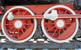 Industriële, locomotief — Stockfoto