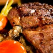 Stock Photo: Grilled ribeye steak