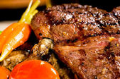 Grilled ribeye steak — Stock Photo