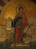 Chiusi - The Romanesque Cathedral (Duomo) of San Secondiano — Stock Photo