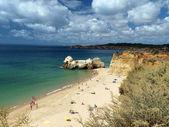 Beach of Praia da Rocha in Portimao, Algarve, Portugal — Stock Photo