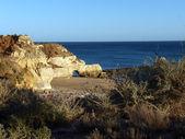 A section of the idyllic Praia de Rocha — Stock Photo