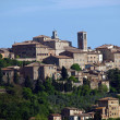 Panoramic View Of Montepulciano ,Tuscany — Stock Photo