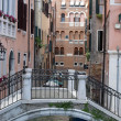 Venice - peaceful and charming district of San Marco - Foto de Stock
