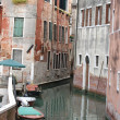 Venice - peaceful and charming district of San Marco — Stock Photo