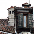 Venice - the roofs of buildings at the Campo San Stefano — Stok fotoğraf