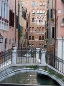 Venetië - rustige en charmante district van san marco — Stockfoto