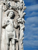 Venice - Doge's Palace. A scene from Paradise on the background of the — Stock Photo