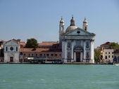 Venice - Giudecca Canal — Stock Photo
