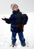 Winter game — Stock Photo