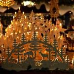 Chrismas candle decoration — Stock Photo