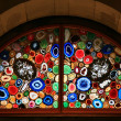 Stained-glass window in the Grossmunster (Zurich, Switzerland). — Stock Photo #4226562