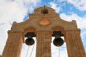 Klokkentoren van de arkadi klooster (kreta, griekenland) — Stockfoto