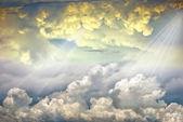 Heavenly Rays of Light — Stock Photo