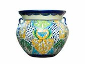 Mexican Talavera Pot — Stock Photo