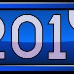 New Year display 2011 — Stock Vector