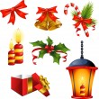Stock Vector: Christmas design elements