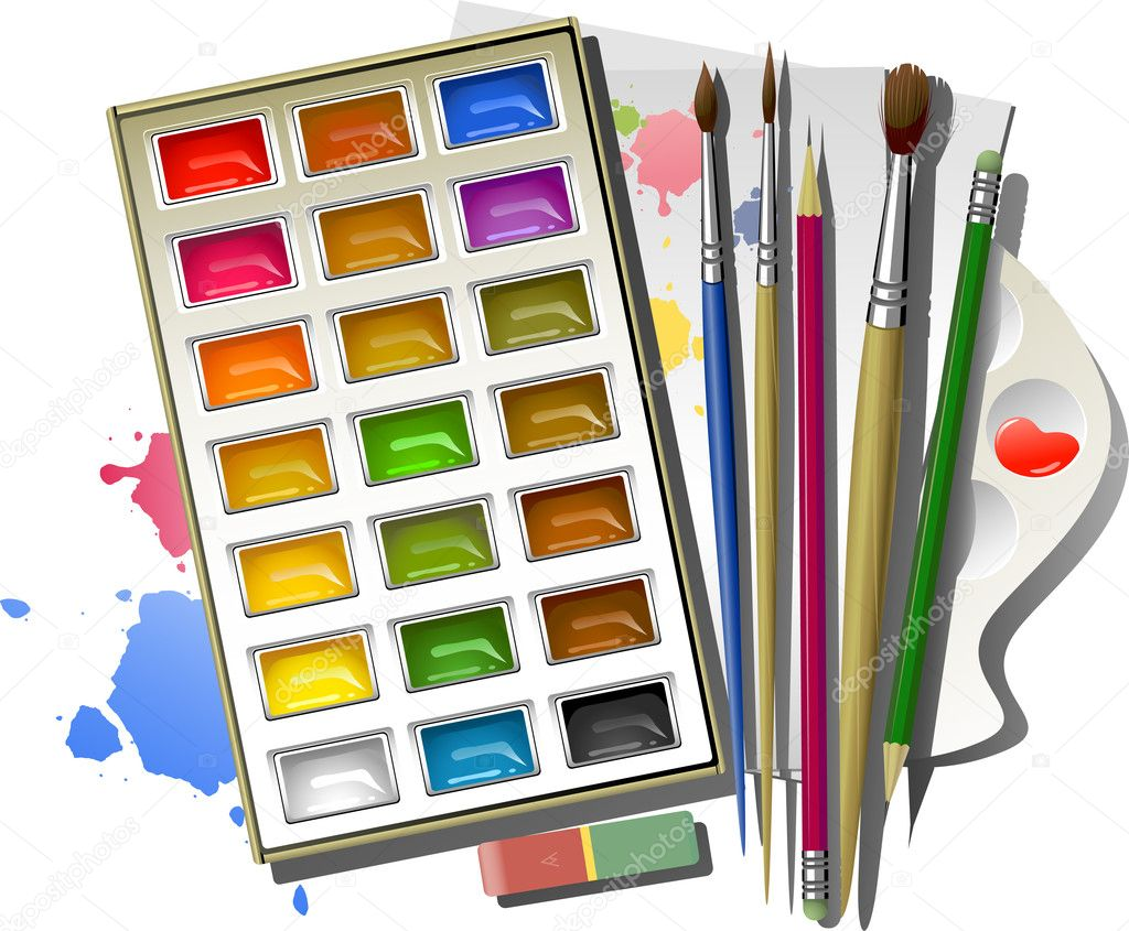 Pay for paper watercolor pencils