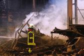 Feuerwehreinsatz — Zdjęcie stockowe