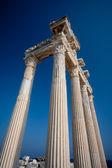 Apollo tapınağı kalıntıları — Stok fotoğraf