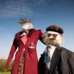Two scarecrows — Stock Photo #4010751