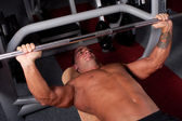 Bodybuilder training i — Stock Photo