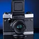 Russian medium fomat camera — Stock Photo