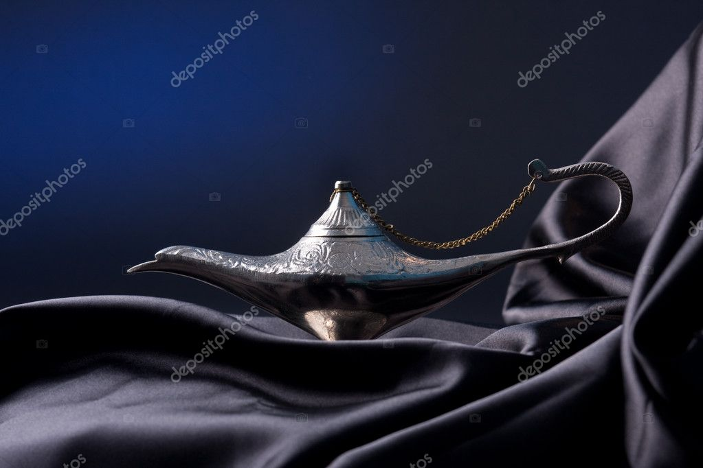 Old Oil Lamp From The Middle East — Stock Photo #5014756