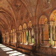 Cloister in Medieval Cathedral — Stock Photo