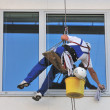 Window cleaner - Stock Photo