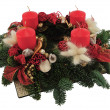 Advent wreath — Stock Photo #4414166