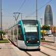 Tram in Barcelona — Stock Photo #4775600