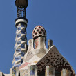 Gaudi roof - Barcelona — Stock Photo #4838486