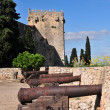 Tarragona city walls — Stock Photo