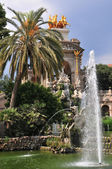 El Parc de la Ciutadella — Stock Photo