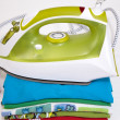 Stock Photo: Steam iron