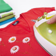 Steam iron — Stock Photo #5054114
