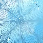 Résumé brillant ciel ou espace fond d'explosion — Vecteur