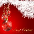 Abstract merry christmas background — Stock Vector