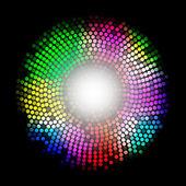 абстрактный разноцветный фон — Cтоковый вектор
