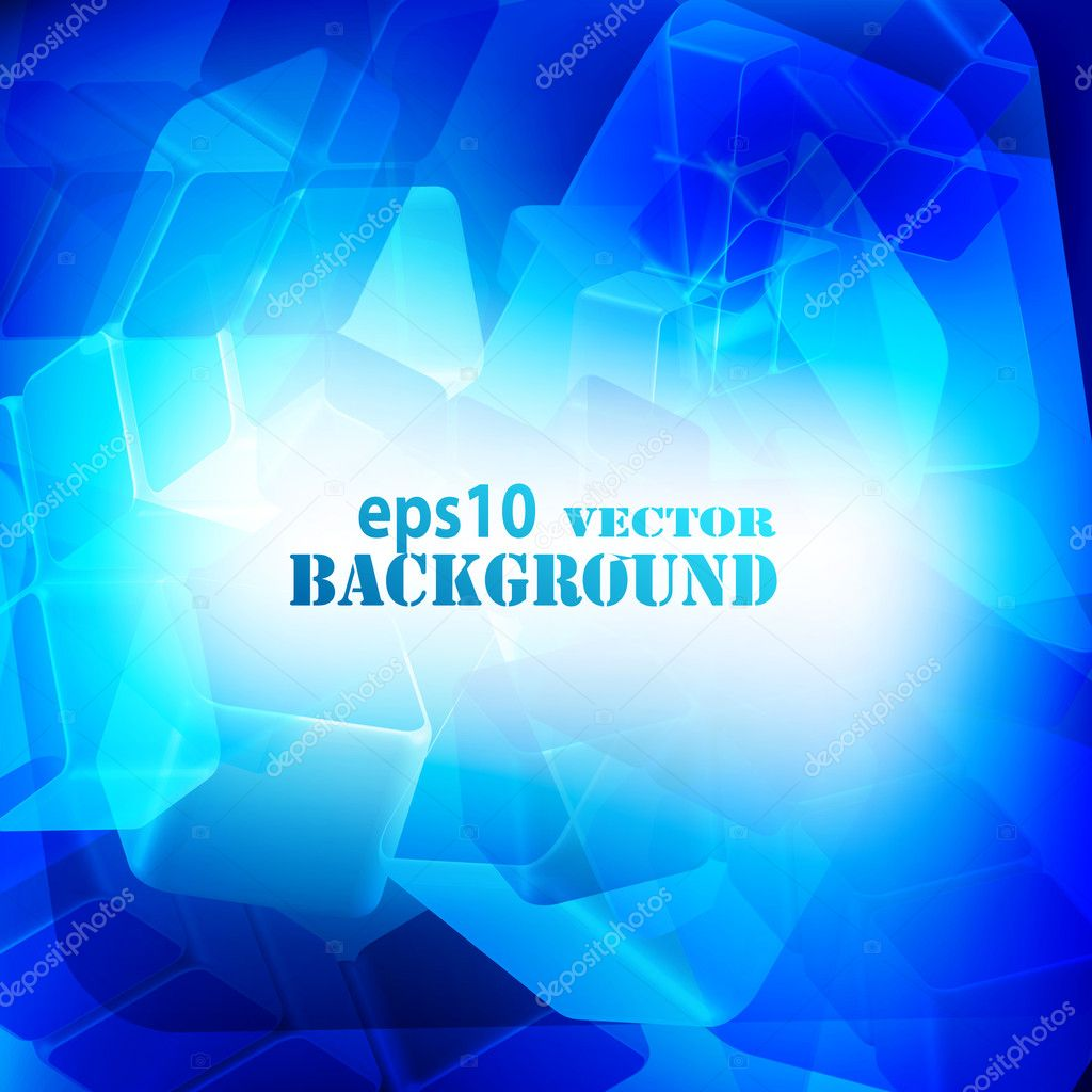 Blue abstract digital light background. Vector eps10 illustration — Stock Vector #5013372