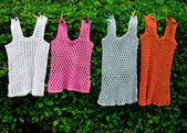 Female summer vests — Stock Photo