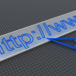 Url in address line — Stock Photo #4341332