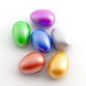 Malowane jaja — Zdjęcie stockowe