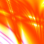 Red and yellow rays — Stock Photo