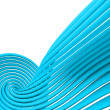 Royalty-Free Stock Photo: Abstract blue lines