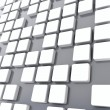Cubes of white color — Stock Photo #4944983
