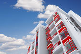 Residential building — Stock Photo