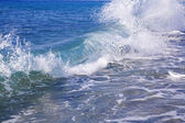 Foamy wave — Stock Photo
